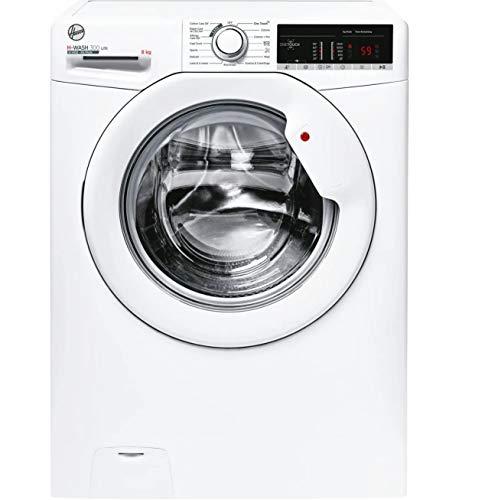Hoover H-WASH 300 LITE Lavatrice 8 Kg, 1400 Giri, Connettività NFC, Carica Frontale, Libera Installazione, 60-40-85 cm, Bianco, Classe D