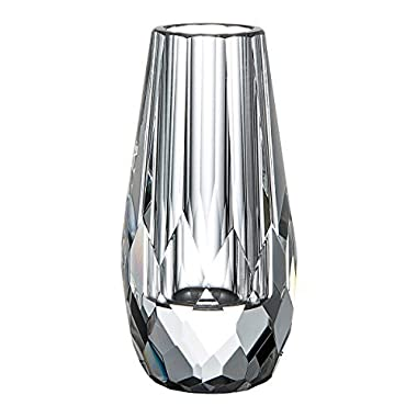 DONOUCLS Mini Flower Bud Crystal Vase Decorative Centerpiece Christmas Decorations For Home or Dinner Table 2.4  x 4.8
