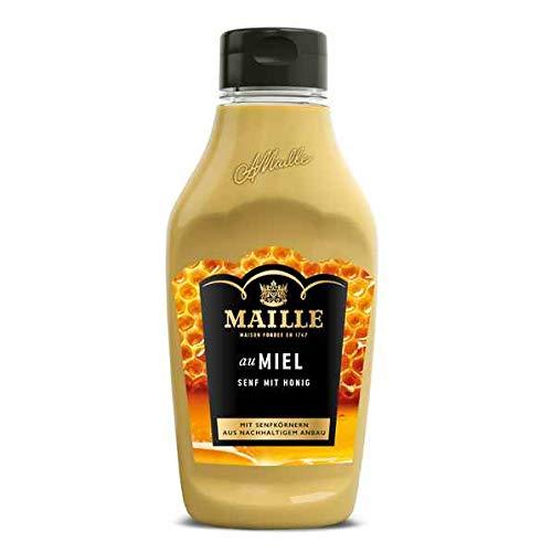 Maille Maille Senf mit Honig Squeezeflasche, 235 ml