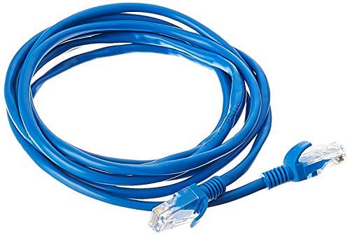 Cabo de Rede PlusCable PC-ETHU25BL Cat.5E 2.5M Azul Patch Cord - Conectores RJ45 Capa de PVC