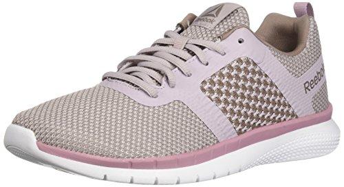 Reebok Women's PT Prime Runner Running Shoe, Lavender Luck/Infsd Lil/Whsp, 5.5 M US