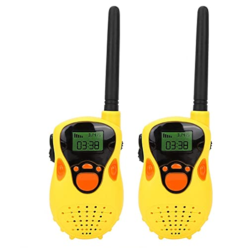 Walkie talkie per bambini, interfono radio elettronico, mini walkie talkie 80-100 m interfono radio elettronico per bambini regalo giocattolo all'aperto, giocattolo interfono radio elettronico per bam