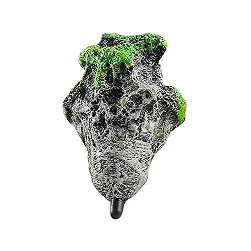 Kentop Aquarium Schwimmenden Felsen Ausgesetzt Steine Unterwasser Avatar Künstliche Aqua Dekoration Size S
