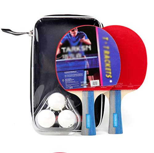 Great Deal! TTZ Portable Ping Pong Paddle Cover Case Bag Adults - Great for Indoor Or Outdoor Play (...