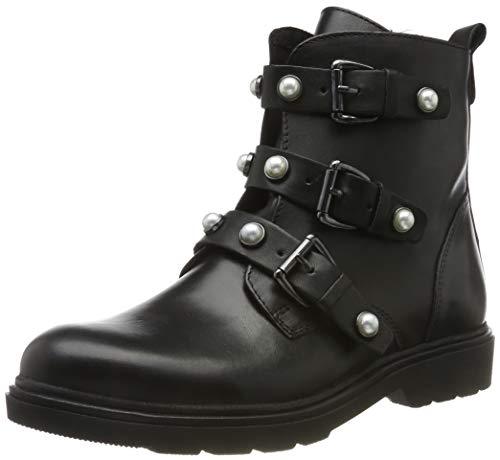 MARCO TOZZI Damen 2-2-25808-23 Biker Boots, Schwarz (Black Antic 002), 40 EU