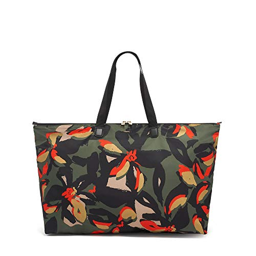 TUMI - Voyageur Just In Case Tote Bag - Lightweight Packable Foldable Travel Bag for Women - Lily Abstract