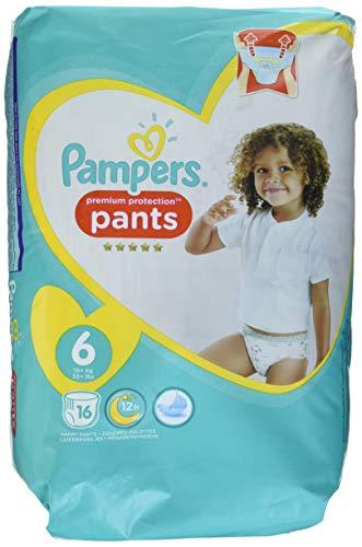 Pampers Premium Protection Pants Größe 6, 16 Windeln