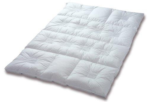Künsemüller Clima Balance 56502 Premium Warm Daunenbett, 4-Kammern mit 12 Quadrat-Klimazonen, 135/200cm