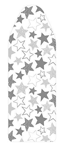 Saphare Patrones, Funda de Tabla de Planchar, 100% Algodón, Estrellas, Grande