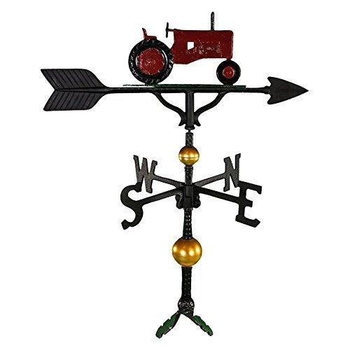 Montague Metal Products Montague Metal Products Wetterfahne mit rotem Traktor, 81,3 cm