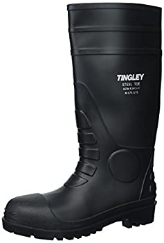 Tingley 31251.12 15  Cleated Steel Toe Boot Size 12 Black