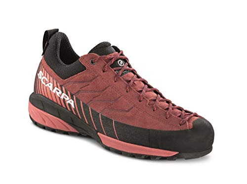 Scarpa Damen Mescalito GTX Schuhe, Brown Rose-Mineral red, EU 38.5