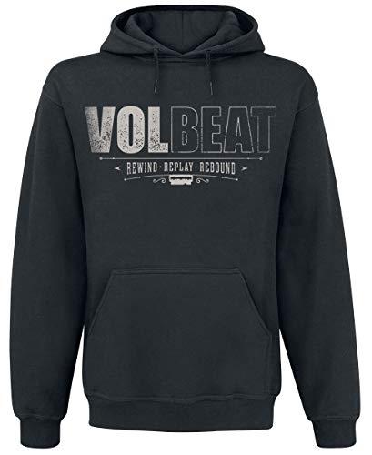 Volbeat Cover - Rewind, Replay, Rebound Männer Kapuzenpullover schwarz XL