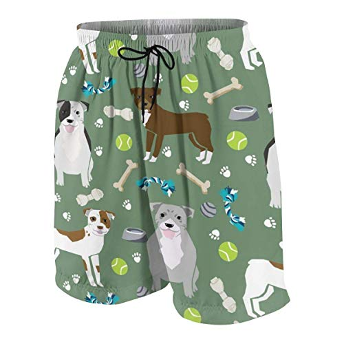 Mens Swim Trunks Goats Pastel Purple Farm Animal Beach Board Shorts Quick Dry Sports Running Swim Board Shorts with Pockets Mesh Lining