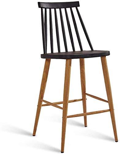 Hoge stoel, barkruk, eettafel, kruk, huis, studeerkruk, thuis, schrijftruk, industrieel, wind, vrijetijdsstoel gemaakt van polypropyleen, grootte 96 cm, kruk (kleur: E, maat: 96 cm) 96CM G