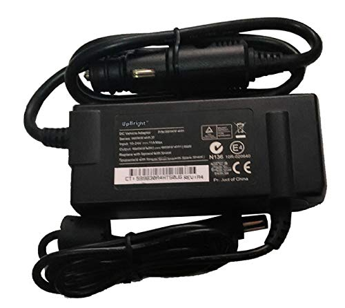 UpBright New Car DC Adapter Compatible with Amperor ADP-90DCA P/N ADP90DCA-5525I Dynamics Itronix 50-0141-006R GD6000 IX605 VR-2 VR-1 Getac V110 F110 T800 RX10 S400 S410 B300 Laptop PC 5400 5410 B300X