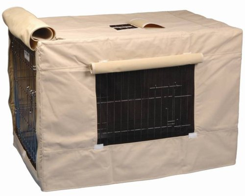Precision Pet Indoor Outdoor Crate Cover for Size 3000 Crates Tan
