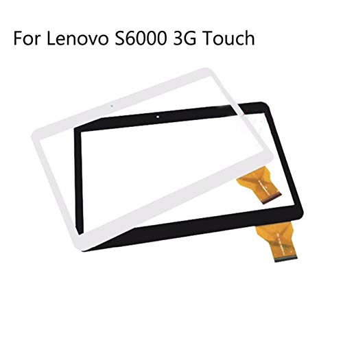 Kit de reemplazo de pantalla 10.1 '' Digitalizador de panel de pantalla táctil Fit para Lenovo S6000 - A101 3G Tablet Tablet Tablet MTK6582 Piezas de repuesto del sensor de vidrio kit de reparación de