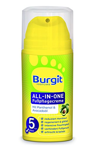 Burgit All-in-one Fußpflegecreme, 1er Pack (1 x 100 g)
