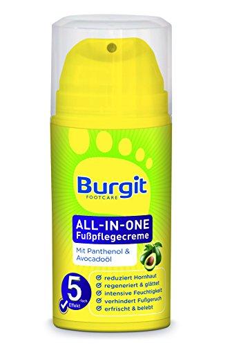 Burgit All-in-one Fußpflegecreme, 1er Pack (1 x 100 g)