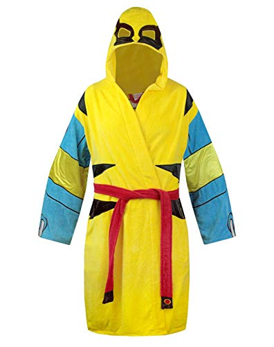 Official Wolverine Cotton Hooded Bathrobe