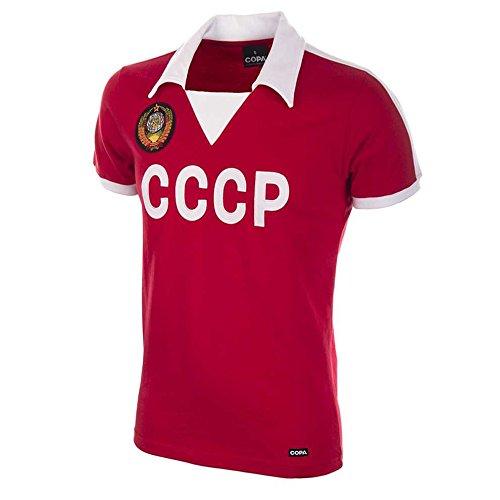 Todas Las Tallas Ruso Rusia Uni/ón Sovi/ética CCCP Estilo Retro Rojo F/útbol Camiseta