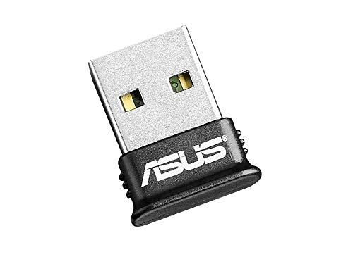 Asus USB-BT400 Nano Bluetooth Stick (PS4 en Xbox One Controller op de pc gebruiken, Bluetooth 4.0) BT4.0 bluetooth. zwart