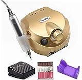 Máquina de taladro de uñas 35000 RPM Pro manicura máquina aparato para manicura pedicura kit lima de uñas eléctrica con cortador herramienta de uñas SKYJIE