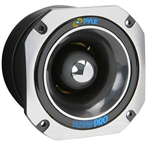 Paire tweeter Titane Pyle PDBT45 400Watt RMS et 800 watt Maxi X SPL 12cm diamètre pour portières voiture 104Db sensibilité