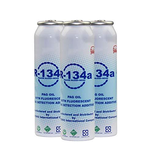 Leckagereparaturmittel Für Klimaanlagen, Klimaanlage Steckmittel Auto Fluoreszenzleckerkennung 134A Kältemittel Ölleckreparaturmittel