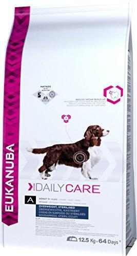 Eukanuba Daily Care Alimento Secco per Cani Adulti in Sovrappeso e Sterilizzati, 12,5 kg