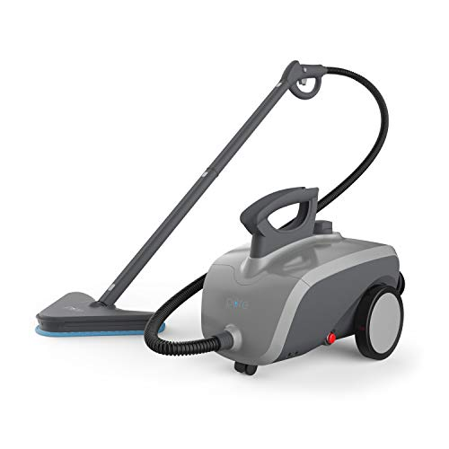 Product Image of the Pure Enrichment PureClean Steam Cleaner - 1500-Watt Multi-Purpose Household System for Deep Cleaning Floors, Windows, BBQ Grills, Grout, Cars and More, Includes 18 Accessories