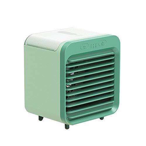 Cfiret Ventilador portatil Escritorio del Ventilador del refrigerador de Aire Mini acondicionador de Aire portátil multifunción purificador del humectador del USB con el Tanque de Agua Inicio