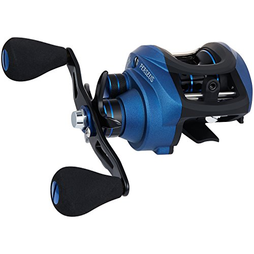 Piscifun Perseus Right Handed Low Profile Baitcasting Reel - Dual Brakes, 18.5LB Carbon Fiber Drag Baitcasting Fishing Reels, Incredible Smooth Baitcaster Reel