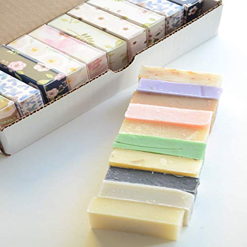 Luxury Soap, Variety Pack, USA Handmade Soap, 10 Bar Spa Gift Set for Wife, Mom, Sister, Aunt and Friends, Guest Soap,...