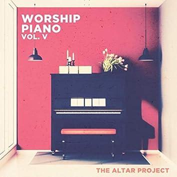 Worship Piano, Vol. V