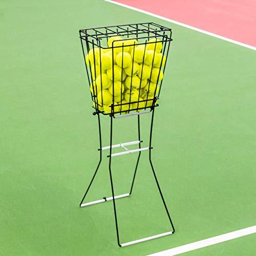 Vermont Tennisballkorb und Hopper – 72-Bälle Kapazität