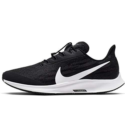Nike FlyEase Air Zoom Pegasus 36 Black/White/Thunder Grey 8 B (M)