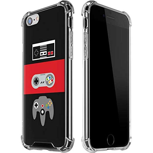 Skinit Clear Phone Case Compatible with iPhone 6 6s - Officially Licensed Skinit Originally Designed Nintendo Controller Evolution Design