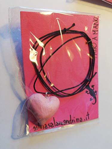Ciondolino Cuore Rosa