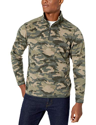 Camo Fleece Jacket for Mens