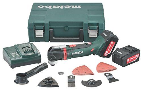 Metabo MT 18 LTX (2 x 5,2 Ah, ASC 30-36V, case, accessories set) - multiherramienta a batería 18V 5,2 ah maletín