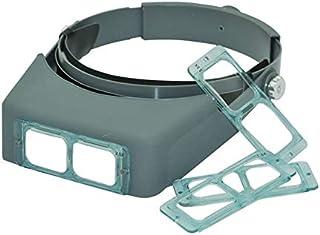 YINGGEXU Förstoringsglas Optivisor huvud bär förstoringsglas förstoringsglas ögon lupp headset pannband förstoringsglas fö...