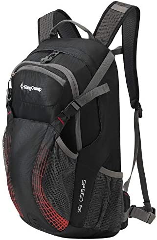 Kingcamp 25L Cycling Backpack With Rain Cover Helmetcatch Stoage Hiking Backpack product image