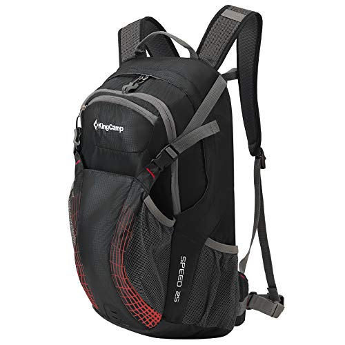 Kingcamp 25L Cycling Backpack With Rain Cover Helmetcatch Stoage Hiking Backpack