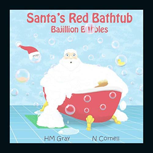 Santa's Red Bathtub: Bajillion Bubbles audiobook cover art