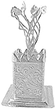 IN INDEA Silver Plated Tulsi Plant With Cabinet Buisness Gift