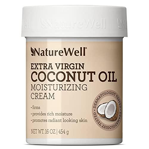 NatureWell Coconut + MCT Moisturizing Cream (16 Ounce)