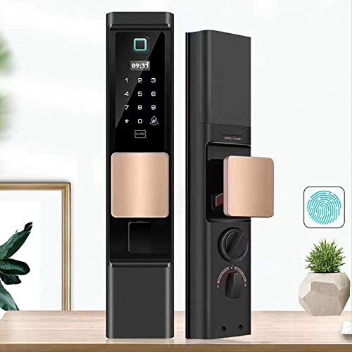 Password Door Lock for Home Family Apartment Hotel Biometric Touch Screen Smart Security Lock Electronic Anti-theft WKY