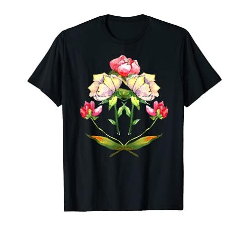 Wasserfarbiges Pfingstrosenblüten in...